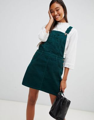 f43e8ccd0751e Miss Selfridge cord jumper dress in forest green in 2019 | BUY ...