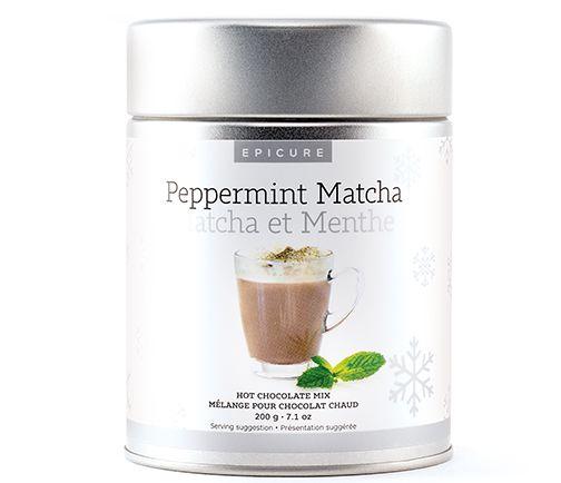Mél. Chocolat Chaud Matcha et Menthe