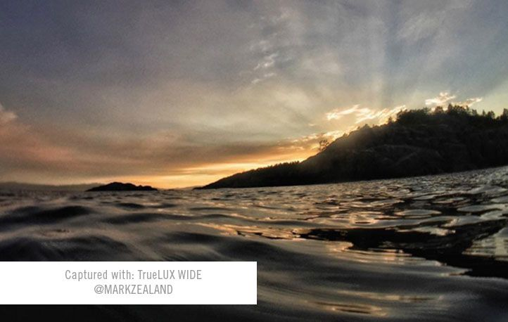 captured with truelux wide @markzealand