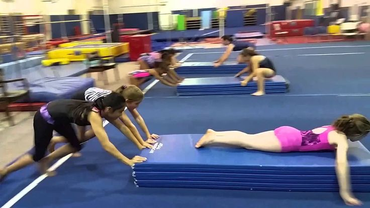 The Panel Mat Relay Race (Gymnastics/Fitness/Games) at RGA in Asheboro