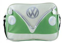 VW T1 Bus shoulder bag green