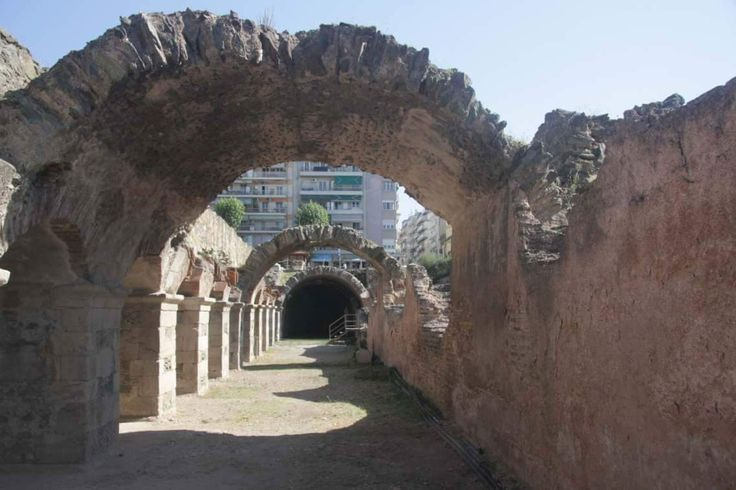 Forum Romanum or Roman Forum was the centre of commercial, political and civilian life for many centuries. Every important city in Roman Empire, like Thessaloniki, had one, where the most civilians were gathered. Discover every layer of history in every city in Greece with @inspirationventures