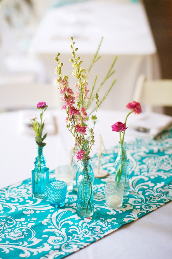 120 best Teal Weddings images on Pinterest   Table decorations ...