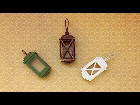 tutorial: miniature lanterns