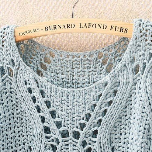 Knit top pullover pattern