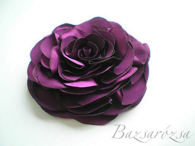 lila, Bazsarózsa, rózsa, kitűző