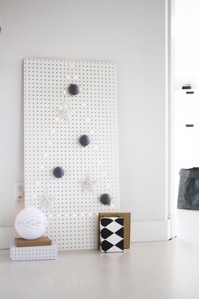 my modern tree DIY for Poppytalk handmade! #ammblog
