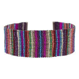 Sundance Bracelet | Fusion Beads Inspiration Gallery - using Ricks Beading Loom
