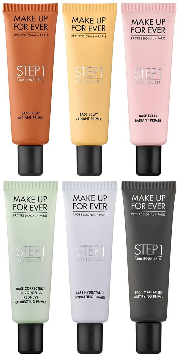 Make Up For Ever Launches Step 1 Skin Equalizer for Spring 2015