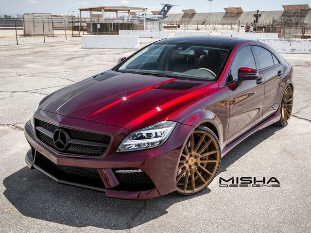 There Is Something Totally Unique On This Custom Mercedes CLS