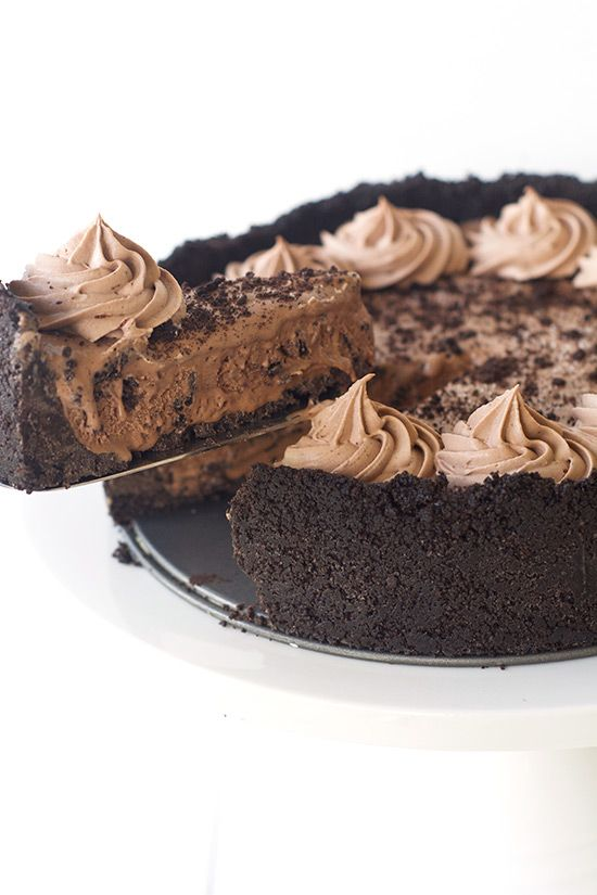 Chocolate Oreo Ice Cream Pie — Sweetest Menu