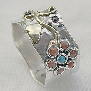 """""""Padma"""" Ring from Cahoia"""