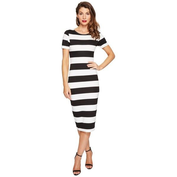 1000  ideas about Black White Striped Dress on Pinterest - Fall ...