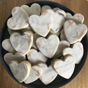 Marble Grey Sugar Cookies. Perfect for weddings and special occasions! www.sweetlybakedperth.com