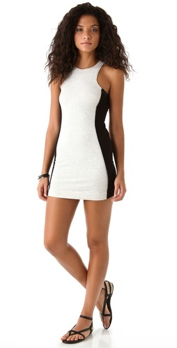 Dolan French Terry Colorblock Dress