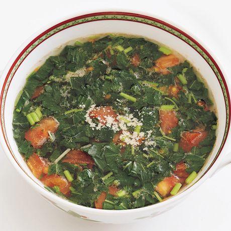 モロヘイヤとトマトのスープ by牧野直子さんの料理レシピ - レタスクラブニュース
