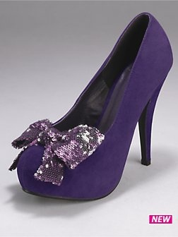 Sparkles and bows and PURPLE! Who could ask for more!