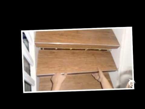 Treppenrenovierung Vinyl Stufen Treppensanierung - YouTube