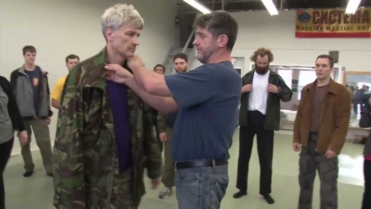 Systema Russian Martial Art by Vladimir Vasiliev Takedowns with Shirt Co...