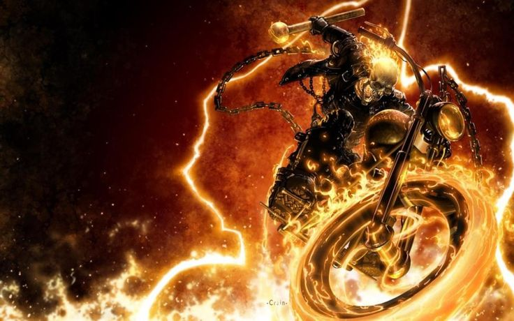 high resolution wallpapers widescreen ghost rider