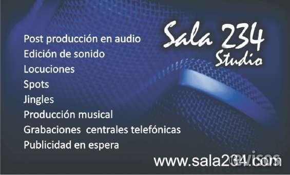 VENTA DE SPOTS RADIALES, PUBLICIDAD, PERIFONEO, GRABACIONES DE AUDIO PROFESIONAL PARA PAGI Sala 234 le brinda el servicio de grabación .. http://lima-city.evisos.com.pe/venta-de-spots-radiales-publicidad-perifoneo-grabaciones-de-audio-profesional-para-pagi-id-615797