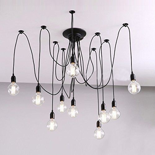 buyee 10 lights creative fairy vintage edison lamp shade. Black Bedroom Furniture Sets. Home Design Ideas