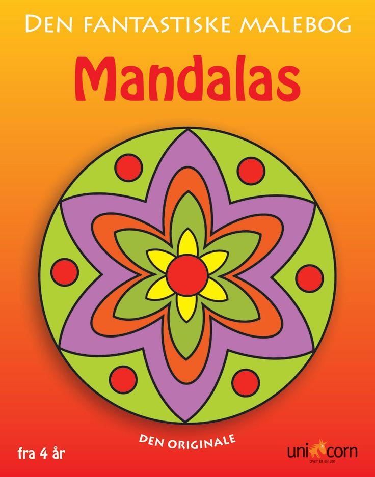 Mandalas malebog Den Fantastiske Malebog fra 4 år