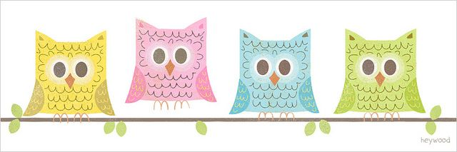 (✿´ ꒳ ` )ノ *                                                              four owls | Flickr: Intercambio de fotos