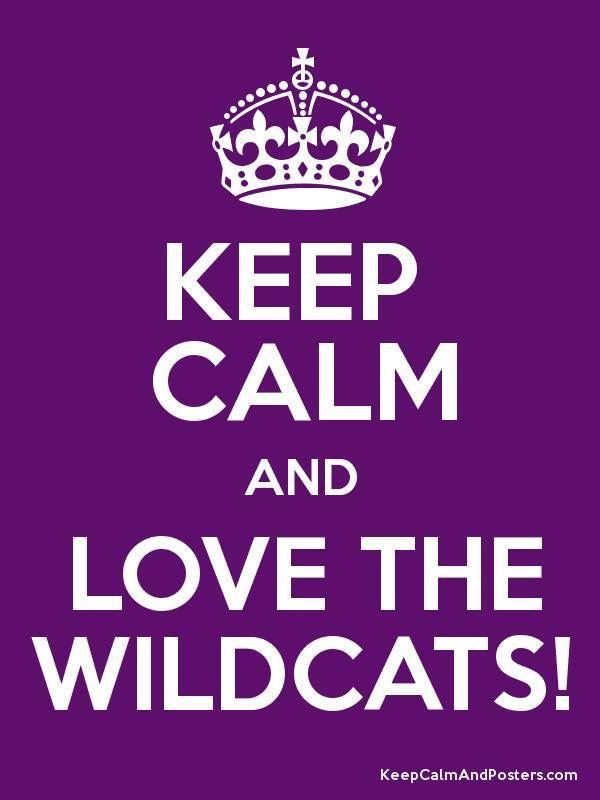 Keep calm and love the wildcats! Kansas State University