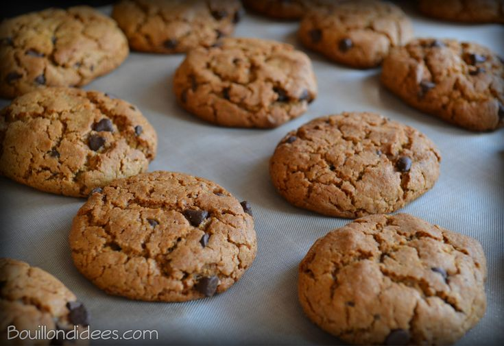 Des cookies moelleux « Sans GLO » (sans Gluten, Lait, Œuf)