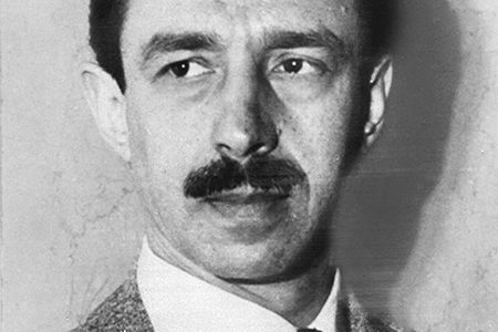 Who killed the Black Dahlia? Pictured above, Dr. George Hodel, at age 38. Find the full story and uncover the secrets of the infamous 1950's mystery at DuJour.com