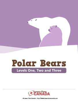 ESL - Polar Bears (Bundled Set of Lesson Plans)