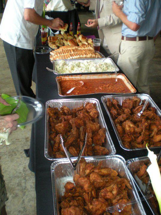 Down home southern wedding buffet dpmc wedding planning for Buffet cuisine en pin