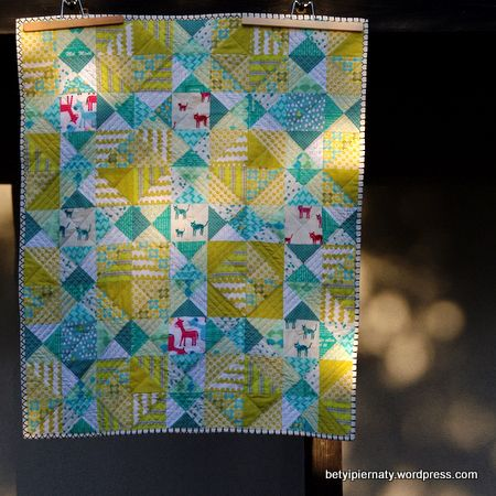 Hello Boy Quilt by betyipiernaty