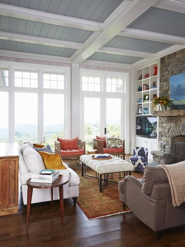rustic and cozy meet chic in this living room hgvmagazine httpwww. beautiful ideas. Home Design Ideas