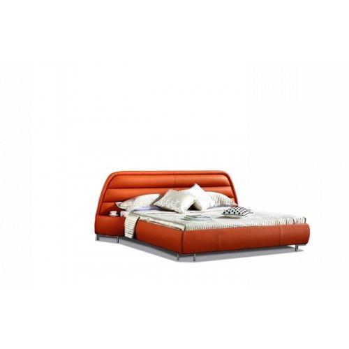 Superb VIG Furniture  B803R   Modern Eco Leather Bed   VGEVBB803R