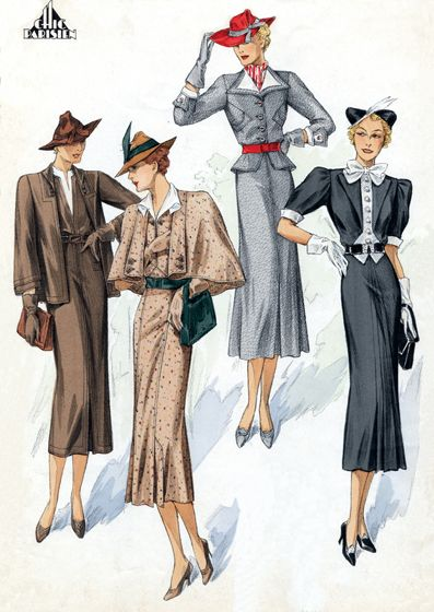 50 Best Images About 1930 40 Art Deco On Pinterest Day Dresses Saks Fifth Avenue And Mccalls