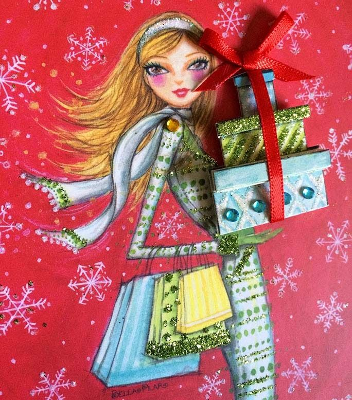 bellapilarstudio: Gift Bags and Boxes and Cards… Oh My!