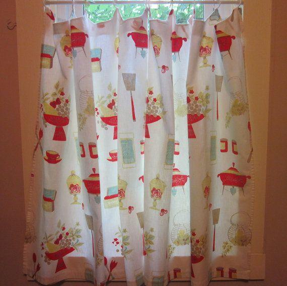 Vintage Kitchen Curtains - 1960s