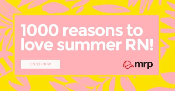 1000 reasons to love summer! Win 1 of 3 R1000 vouchers with Mr Price - enter…