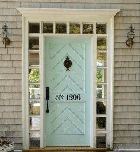 House Numbers On Front Door Spelled Out Exteriors Pinterest Casas Hogar And Futura Casa