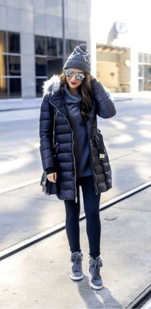 How to Style an Athletic Casual Look for Winter. How to Style a Winter  Puffer Coat.  puffercoat  coat  wintercoat  capsulewardrobe  athleisure ... 0d39088d8