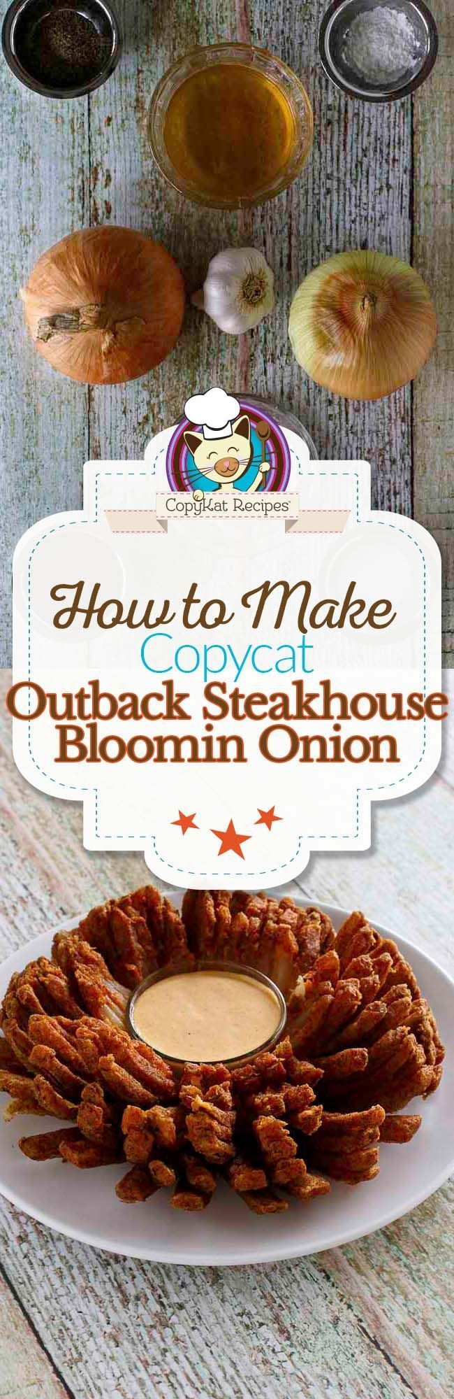 Make your own homemade Outback Steakhouse Bloomin Onion with this copycat recipe.