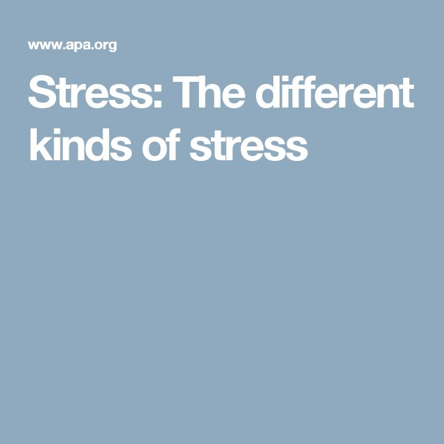 describe the major stressors in a 4 types of stress to know & understand to manage stress well, you need to understand the four types of stress the four quadrant stress grid below, uses a simple.