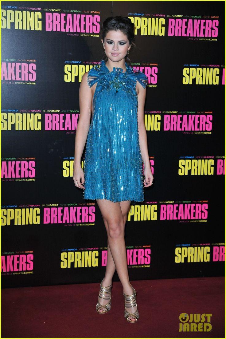 Vanessa Hudgens & Selena Gomez: 'Spring Breakers' Paris Premiere! | vanessa hudgens selena gomez spring breakers paris premiere 03 - Photo Gallery | Just Jared