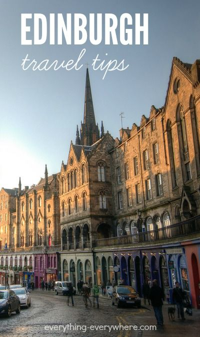 Travel to Edinburgh, capital of Scotland, with this helpful travel guide!  Edinburgh travel tips.