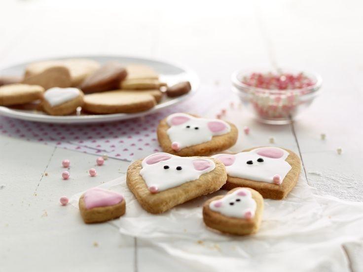Stampo biscotti puzzle cuore rosso Lékué