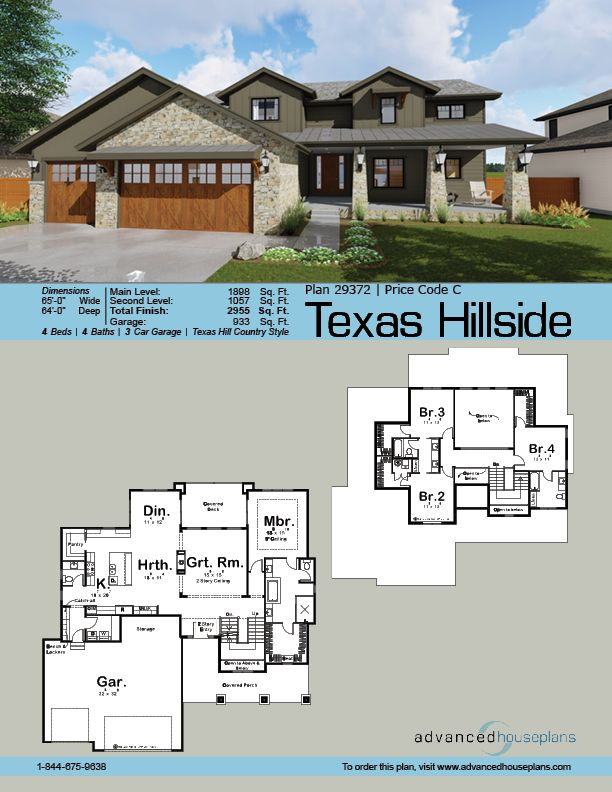 48 Best Images About Ahp | 1 1/2 Story House Plans On Pinterest