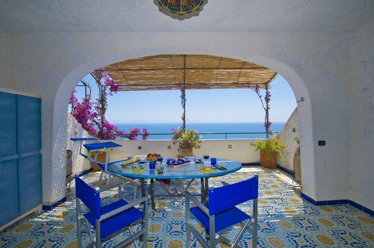 La Conca apartment, in Conca dei Marini, Amalfi coast, Italy.
