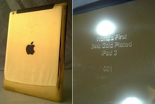 First Golden Ipad 3